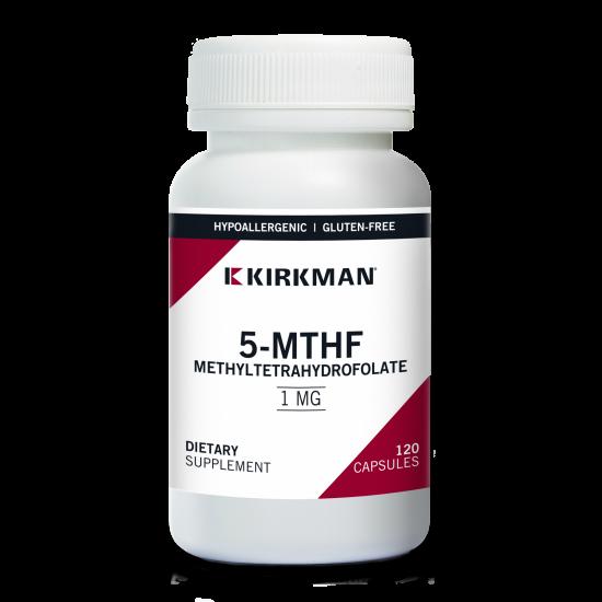 Kwas foliowy, witamina B9 w formie L-metylofolianu wapnia - Suplementy diety Kirkman