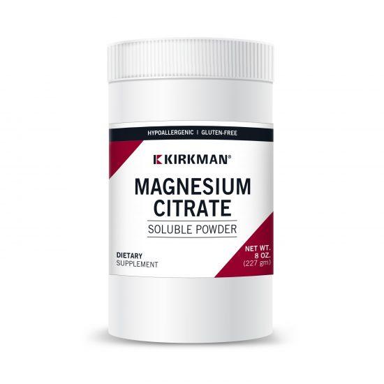 Magnez w formie cytrynianu magnezu - Suplementy diety Kirkman