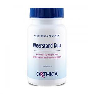 Ekstraktu z żeń-szenia - Orthica Defenses Cure 30 - Suplementy diety Orthica