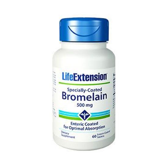 LifeExtension Bromelaina Specially – Coated Bromelain 60 tabl