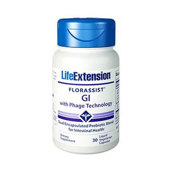 LifeExtension FLORASSIST® GI with Phage Technology 30 kaps