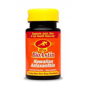 BioAstin® Astaksantyna 12 mg - hawajska astaksantyna- Suplementy diety Cyanotech Corporation