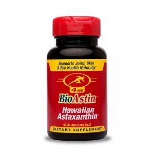 BioAstin® Astaksantyna 4 mg - hawajska astaksantyna- Suplementy diety Cyanotech Corporation