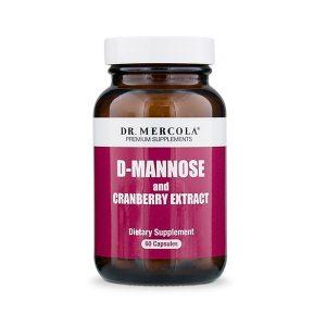 Suplement na układ moczowy - D-Mannoza, ekstrakt z żurawiny - Suplementy diety Dr Mercola