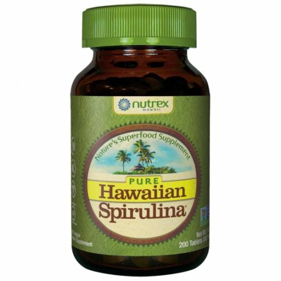 Hawaiian Spirulina® spirulina hawajska pacifica 500 mg - Suplementy diety Cyanotech Corporation