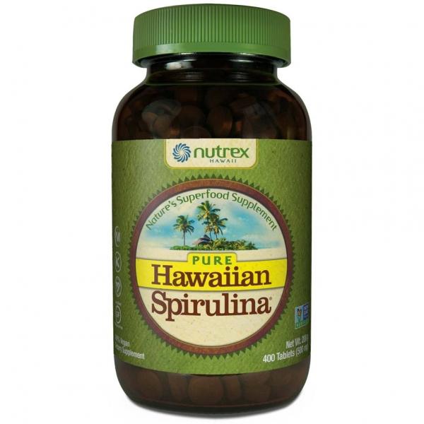 Cyanotech Hawaiian Spirulina® SPIRULINA HAWAJSKA PACIFICA 500 mg 400 tabl