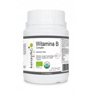 kompleks witamin z grupy B - Suplementy diety kenayAG