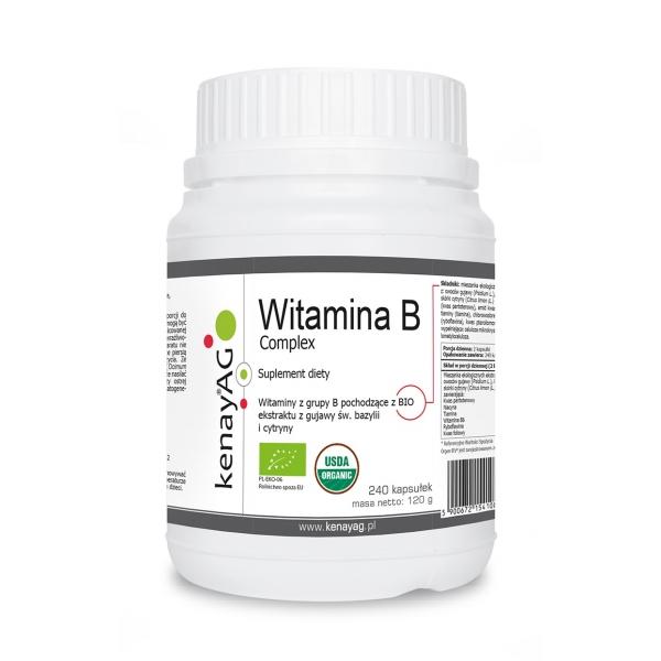 KenayAG Witamina B complex 240 kaps
