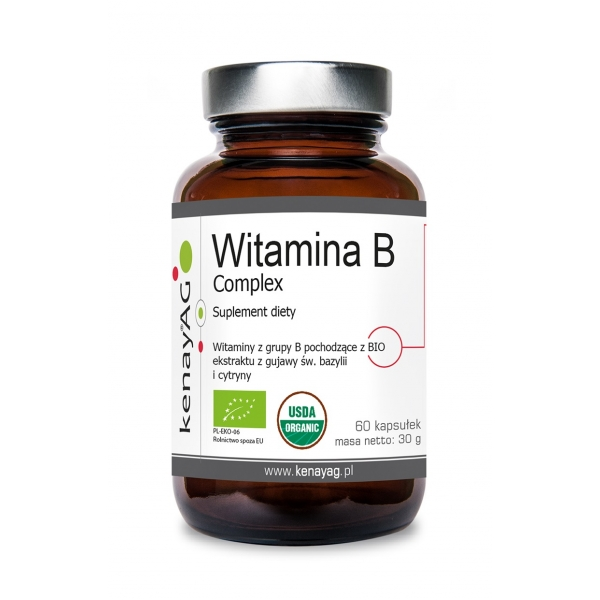 KenayAG Witamina B complex 60 kaps