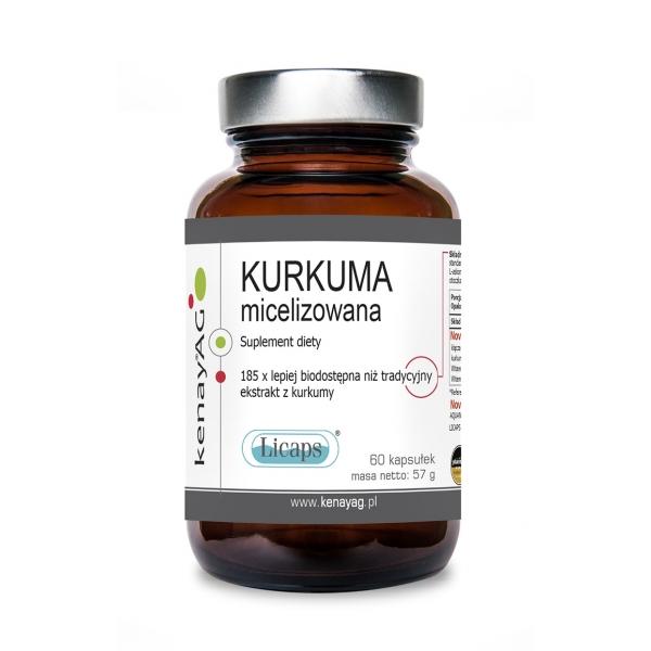 KenayAG Kurkuma micelizowana 60 kaps