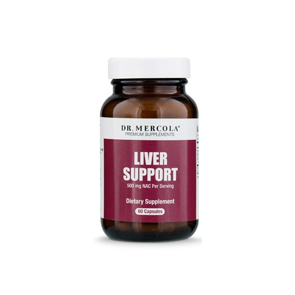 DR. MERCOLA Liver Support 60 kaps (08.2020)