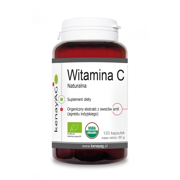 KenayAG Witamina C Naturalna 120 kaps
