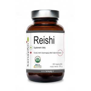 reishi ganoultra - suplement na układ odpornościowy - Suplementy diety kenayAG