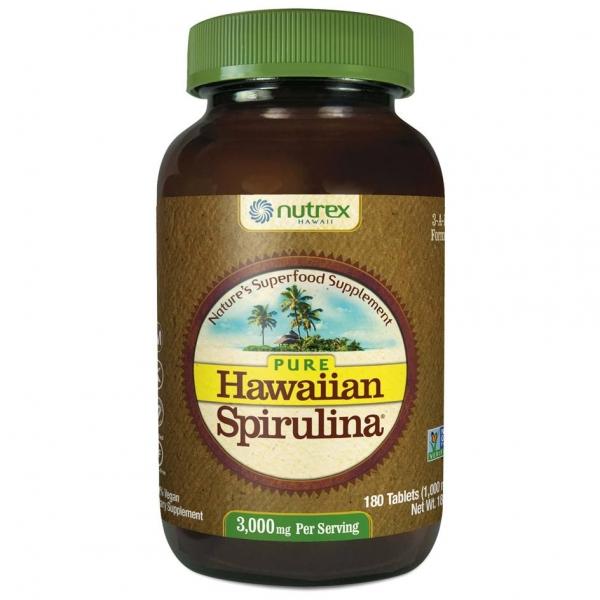 Cyanotech Spirulina Pacifica® hawajska 1000 mg 180 tabl