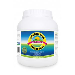 Spirulina Pacifica® hawajska 500 mg - Suplementy diety Cyanotech Corporation