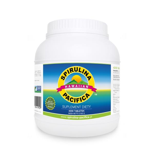 Cyanotech Spirulina Pacifica® hawajska 500 mg 4200 tabl