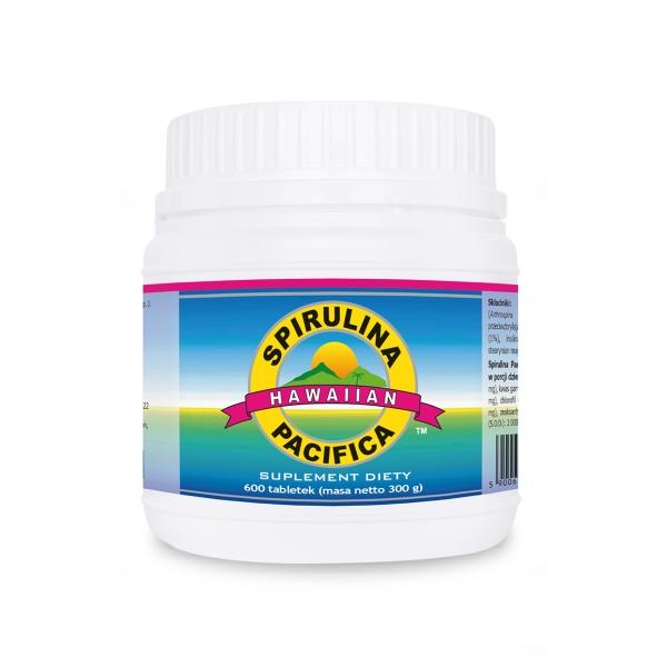 Cyanotech Spirulina Pacifica® hawajska 500 mg 600 tabl