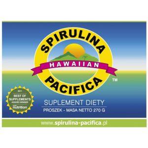 Spirulina Pacifica® hawajska w proszku - Suplementy diety Cyanotech Corporation