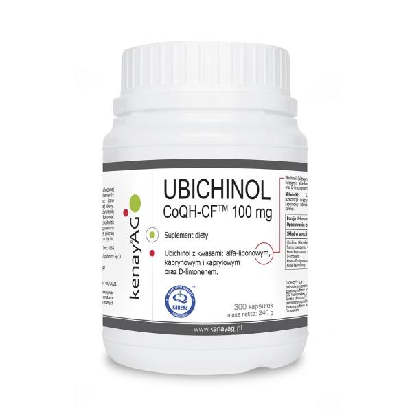 KenayAG UBICHINOL CoQH-CF 100 mg 300 kaps