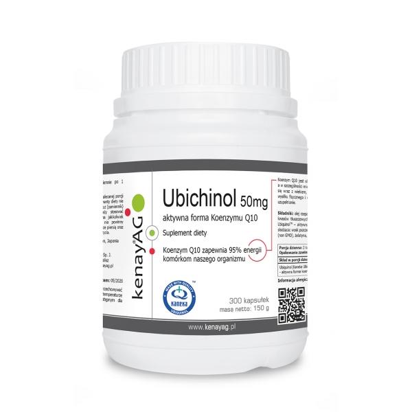 KenayAG Ubichinol – Koenzym Q10 50 mg 300 kaps