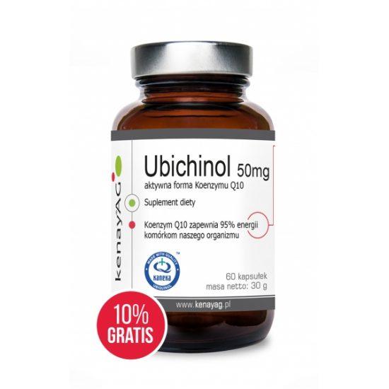 koenzym Q10 - ubichinol - Suplementy diety kenayAG