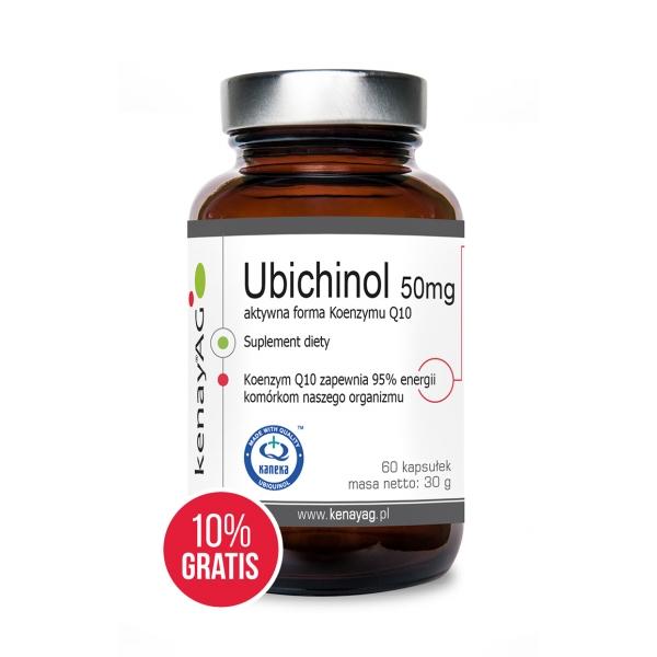 KenayAG Ubichinol – Koenzym Q10 50 mg 60 kaps