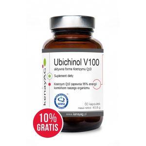 koenzym Q10 - ubichinol v100 aktywna forma - Suplementy diety kenayAG