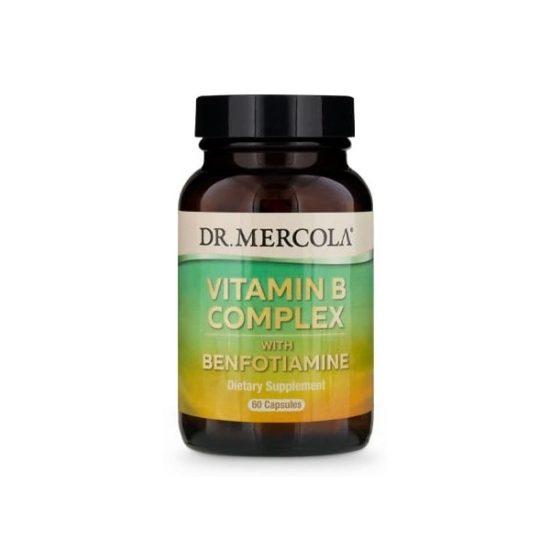 8 witamin z grupy B, benfotiaminę oraz kiełki komosy ryżowej - Suplementy diety Dr Mercola