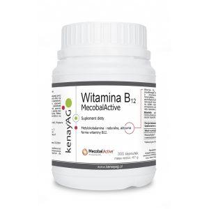 witamina B12 metylokobalamina - Suplementy diety kenayAG