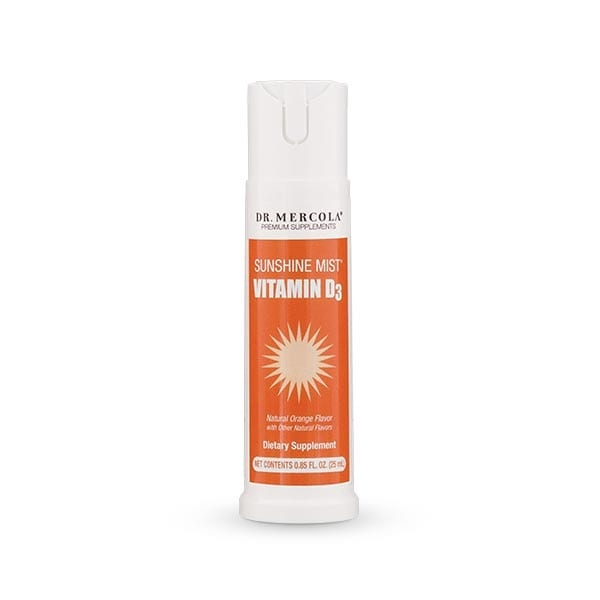 DR. MERCOLA WITAMINA D 1000 SUNSHINE MIST 25 ml